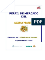 Perfil Del Mercado Del Aguaymanto
