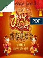 Majlis Perayaan Tahun Baru Cina