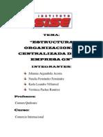 Estructura Organizacional Gn