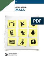 Guatemala - Mapping Digital Media