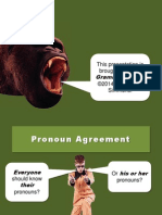 pronounagreement