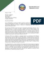 Letter to Secretary Husted (Dir. 2014-01) - 1.17.14