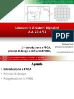 1 Introduzione FPGA, Principi Di Design e Richiami Di VHDL