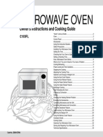 Samsung Microwave Manual