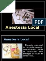 Aula 4 - Anestésicos locais
