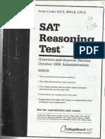 Sat Test October 2006