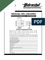 Manual Bomba Centrifuga Iso 2858 v.g.07 12