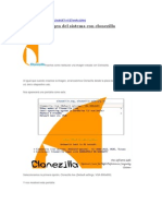 Clonezilla - Restaurar Imagen Del Sistema