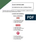 PROCLAMACIÓN DEFINITIVA DE CANDIDATURA