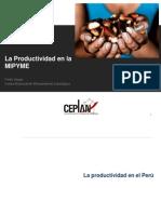 La Productividad en La MIPYME