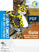 Guia de Convivência Gente e Onças - Livro de Atividades 1