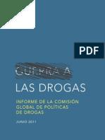 Informe de la Comisión Global de Políticas de Drogas