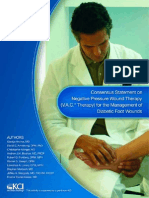 Consensus Statement on Negative Pressure Wound Therapy for the Management of Diabetic Wounds