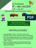 Actividades Hacer No Hacer Infantil