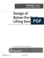 ASME BTH-1-2011 Design of Below the Hook Lifting Devices Reduced