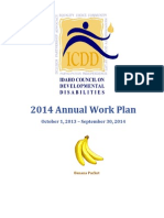 2014 Annual Work Plan FINAL (Banana Packet)