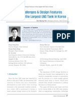 Technical Challenges & Design Features LNG Tank
