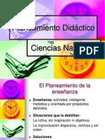 Capitulo IV Planeamiento Didactico Ciencias Naturales 2