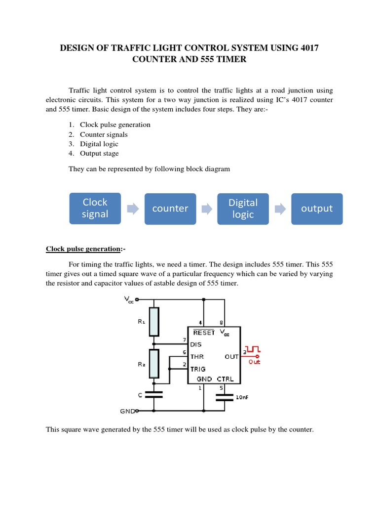 Traffic Light Circuit Diagram Using 4017 Trusted Wiring Diagrams Control System Counter And 555 Timer Pcb Layout