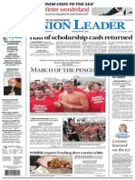 New Hampshire Union Leader Front Page, Feb. 3, 2013