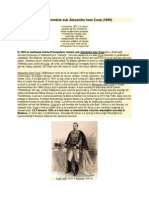 Unirea Principatelor române sub Alexandru Ioan Cuza