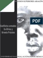 """Bitácora Internacional No. 01 """"Conflictos Armados en África y Oriente Próximo"""" (Diciembre-Enero)"""