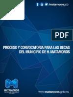 Convocatoria Becas Municipales.