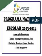 Proyecto Natacion Escolar PDF