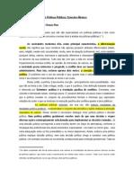Análise de Políticas Públicas - RUA maria das Graças