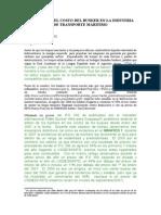 El Impacto Del Costo Del Bunker en La Industria de Transporte Maritimo (1)