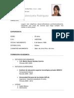 C.v ( Valenzuela Rodriguez)