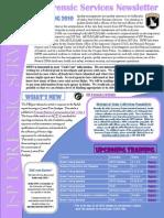 ForensicServicesNewsletterSpring2010
