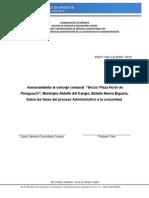 Proyecto Inicial Servicio Comunitario Antolin Del Campo