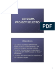 Project Selection Guidelines Updated