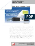 Nutanix NX-2000 Series Complete Cluster with VMware View