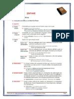 FUNÇÕES SINTÁTICAS nos vários grupos (blog11 11-12)