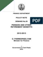 Finance Pension