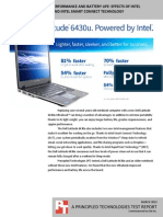Dell Latitude notebook performance and battery life