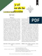 Colletti y el problema de la contradicción Claudio Cormick