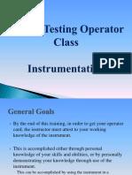 Breath Testing Operator Class Instrumentation