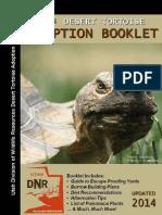 Utah's Desert Tortoise Adoption Booklet