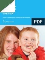 Prevention of Homelessness Evaluation 2009 Report