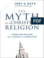 The Myth of a Christian Religion by Gregory A. Boyd, Chapter 1