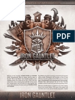 Privateer Press - Iron Gauntlet 2014 Rules pack