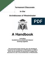 Handbook for Permanent Deacons1