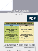 Notes - Civil War Begins