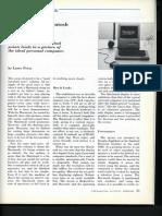 Original Macintosh Review by Larry Press