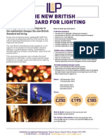 The New British Standard for Lighting Course