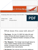 38155834 Air India Indian Airlines Merger 131014095242 Phpapp01
