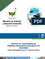 Presentación política de ecoturismo -UPTC